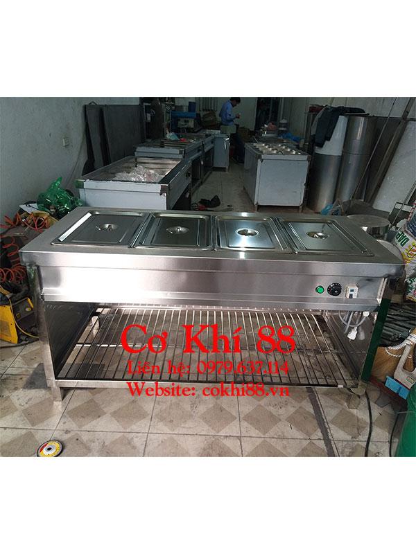 Tủ giữ nóng thức ăn công nghiệp 4 khay vip 1/1